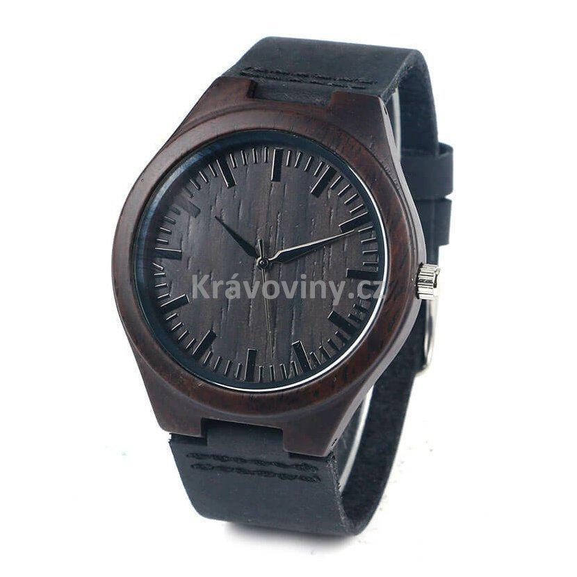 1424a13b62b Dřevěné hodinky Henri