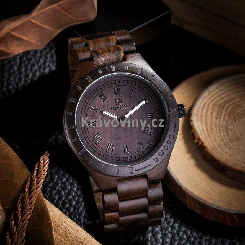 Dřevěné hodinky Jacques  3bba803d6b